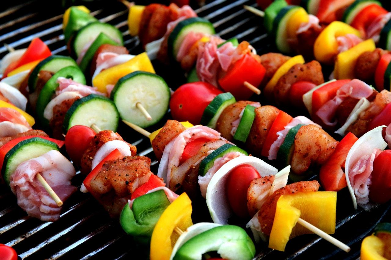 grönsaker på grill